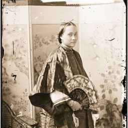 L0056167 Canton lady. Photograph by John Thomson Credit: Wellcome Library, London. Wellcome Images images@wellcome.ac.uk http://wellcomeimages.org Canton, Kwangtung (Guangdong) province, China: a young woman. Photograph by John Thomson, 1869. 1869 By: J. ThomsonPublished: - Copyrighted work available under Creative Commons Attribution only licence CC BY 4.0 http://creativecommons.org/licenses/by/4.0/